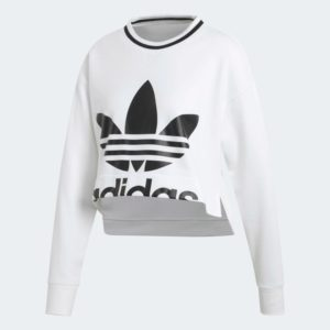 Cropped_Sweatshirt_White_ED4759_01_laydown