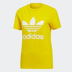 Trefoil_T_Shirt_Yellow_ED7495_01_laydown