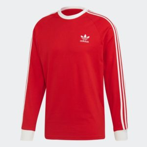 3_Stripes_Tee_Red_FM3776_01_layd
